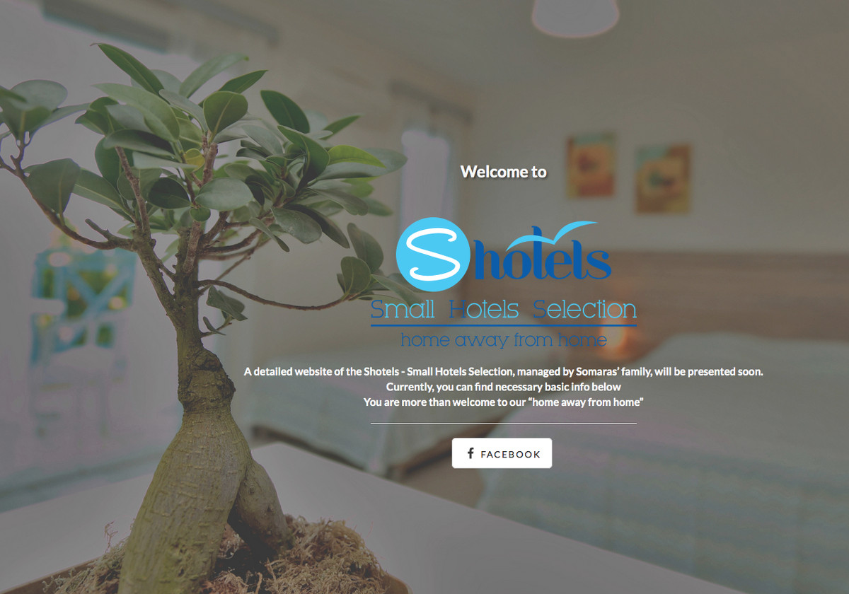 Landing Page για Small Hotels Selection